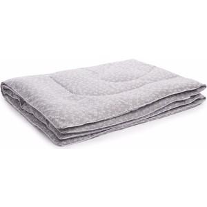 Одеяло Vikalex бязь, холлофайбер 110х140, серый с бантиками (Vi21104) матраc 119х60х8 холлофайбер polini