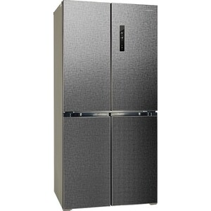 лучшая цена Холодильник Hiberg RFQ-490DX NFXq