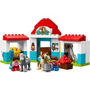 Конструктор Lego Duplo Town Конюшня на ферме lego duplo 10817 времена года