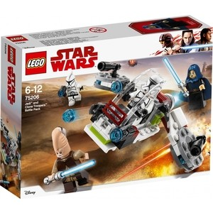 Фото - Конструктор Lego Star Wars Боевой набор джедаев и клонов-пехотинцев star wars lego star wars 75226 боевой набор отряда инферно