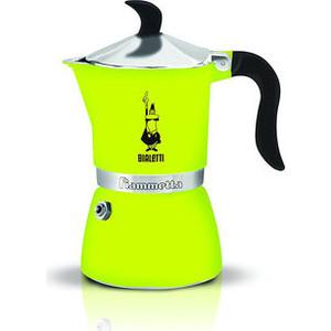Гейзерная кофеварка Bialetti Fiametta, 4792, 3 п., лайм