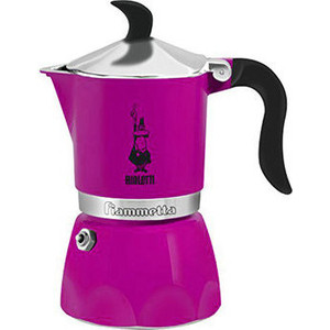 Гейзерная кофеварка Bialetti Fiametta, 5352, 3 п., фиолетовый стоимость