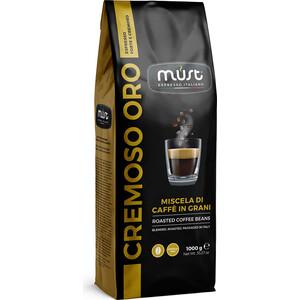 Кофе в зернах MUST CREMOSO BAR 1000гр капсулы must dg cremoso