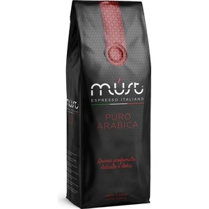 Кофе в зернах MUST PURE ARABICA 1000гр compagnia dell arabica jamaica blue mountain кофе в зернах 1 5 кг