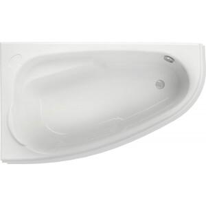 Акриловая ванна Cersanit Joanna 160х95 см, левая, ультра белая (WA-JOANNA*160-L-W) акриловая ванна cersanit joanna wa joanna 160 l 160x95