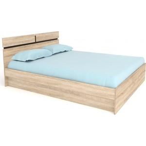 Кровать БАРОНС ГРУПП Карина-160 с ортопедическим основанием кровать баронс групп алина 140 с ортопедическим основанием