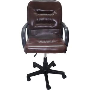 Кресло Союз мебель Шико пиастра экокожа коричневая все цены