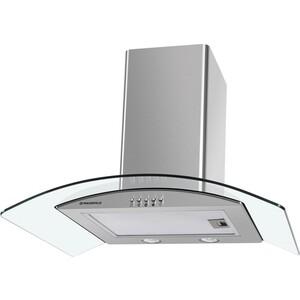 лучшая цена Вытяжка MAUNFELD ANCONA PlusA 50 IX, прозрачное стекло