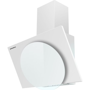 Вытяжка MAUNFELD TOWER L (PUSH) 50 WH, белое стекло