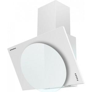 Вытяжка MAUNFELD TOWER L (PUSH) 60 WH, белое стекло вытяжка каминная maunfeld tower round 50 white белый