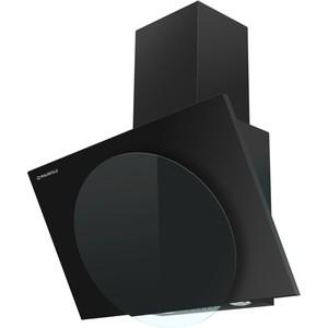 Вытяжка MAUNFELD TOWER L (PUSH) 60 черный/черное стекло вытяжка maunfeld tower cs 60 60см 620куб нерж черн стекло