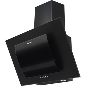 Вытяжка MAUNFELD TOWER ROUND 50 черный/черное дугообразное стекло