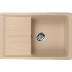 Кухонная мойка AquaGranitEx M-27 (302) песочный