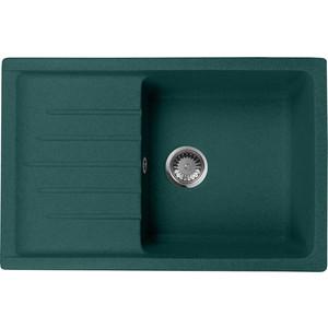 Кухонная мойка AquaGranitEx M-27 (305) зеленый