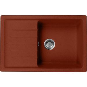 Кухонная мойка AquaGranitEx M-27 (334) красный марс кухонная мойка aquagranitex m 56 334 красный марс