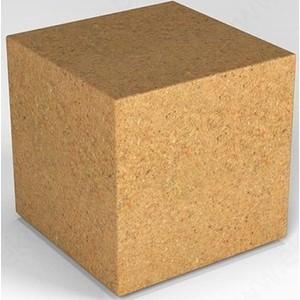 Декоративная фигура Flox Куб песочный гранит (390х 385х 385)