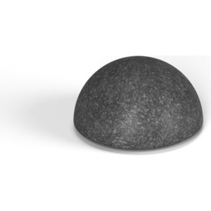 Декоративная фигура Flox Полусфера черный гранит (185х 345х 345)
