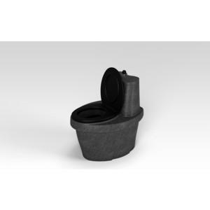 Туалет Rostok торфяной черный гранит (820х 615х 790)