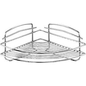 Полка-решетка Milardo угловая, нержавеющая сталь (206WC00M44) полка решетка milardo угловая нержавеющая сталь 206wc00m44