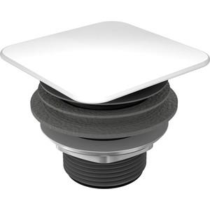 Донный клапан Kaldewei 3905 квадратный, эмалированная крышка, белый (905900000001)