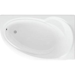 Акриловая ванна Акватек Бетта 160х97 правая, фронтальная панель, каркас, слив-перелив (BET160-0000026)