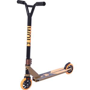 Самокат трюковый NOVATRACK WOLF max 100кг 8+ алюмин.колеса 120 мм коричневый самокат внедорожный novatrack stamp n1 max 100кг novatrack
