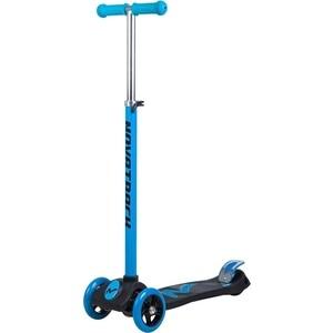 Самокат-кикборд NOVATRACK RainBow подростковый max 60кг голубой 126180