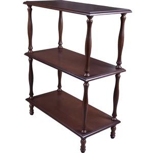 Этажерка Мебелик П 9 Средне коричневый