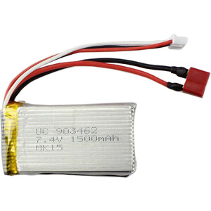 Аккумулятор WL Toys 7.4 v, 1500 mAh, Li-Po - L969-17