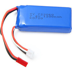 Аккумулятор WL Toys 7.4V 1200 mAh для квадрокоптера Q202 - Q202-31
