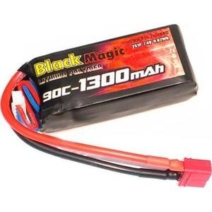 Аккумулятор Black Magic 11.1V (3S) 1300mAh 90C - BM-F90-1303D аккумулятор black magic 11 1v 3s 5000mah 90c traxxas plug bm f90 5003d