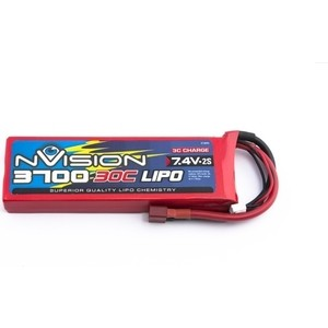 Аккумулятор nVision 7.4V 2S 30C 3700 mAh - NVO1806