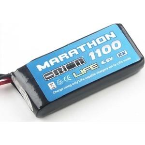 Аккумулятор Team Orion Batteries Marathon Life Standard RX LiPo 6.6V 2S 30C 1100 mAh - ORI12256 аккумулятор team orion lipo 11 1 v 3s 50c 1800 mah ori60148