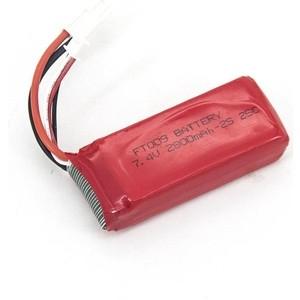 Аккумулятор Feilun FT009 7.4V 2800mAh - FT009-15-2800