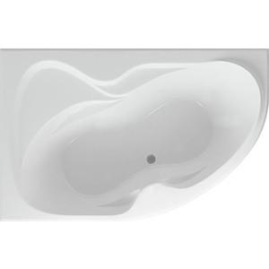 Акриловая ванна Акватек Вега 170х105 м левая, фронтальная панель, каркас, слив-перелив (VEG170-0000073)