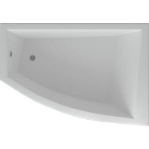 Акриловая ванна Акватек Оракул 180х125 правая, фронтальная панель, вклеенный каркас, слив-перелив (ORK180-0000009)