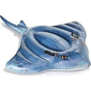 Надувная Intex игрушка-наездник 188х145см Скат (57550) надувная игрушка наездник intex краб 213х137см 57528
