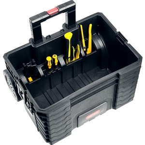Ящик для инструментов Keter на колесах Gear Cart 22 (38370) ящик для инструментов keter quick latch toolbox 22 hammer 22 ql 17186821