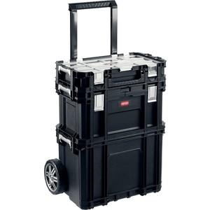 Набор ящиков на колесах Keter Smart Rolling 22 (38390-22)