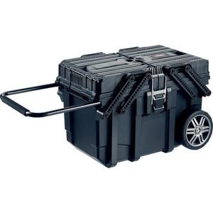 Ящик для инструментов на колесах Keter Job Box 22 (38392-25) ящик для инструментов keter 22 56х31х28см quik latch pro 38337 22 z01