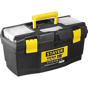 Ящик для инструментов Stayer Vega-19 пластиковый (38105-18_z03) корзина универсальная curver your style цвет кремовый l