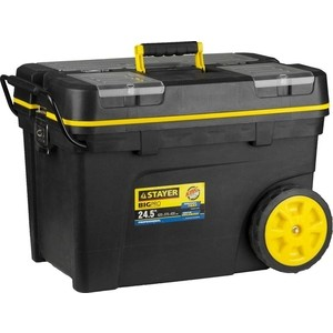 Ящик-тележка для инструмента Stayer BigPRO пластиковый Professional (38107-24)