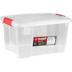 Ящик для инструментов Зубр МХ 417 пластиковый 32л (38183-17)