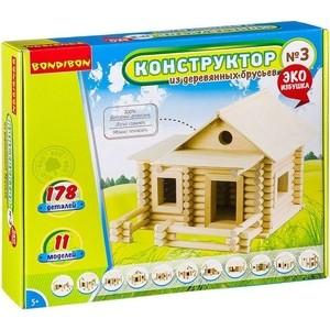 Конструктор Bondibon из деревянных брусьев №3 (ВВ2603 )