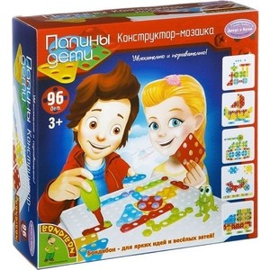 Конструктор-мозаика Bondibon 96 деталей (ВВ2048 ) воndibon конструктор мозаика вв2049
