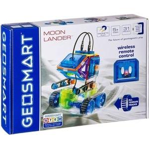 Магнитный конструктор Bondibon GEOSMART Лунный модуль на гусеничном ходу, с ик- управлением, 31 деталь (ВВ2316 )