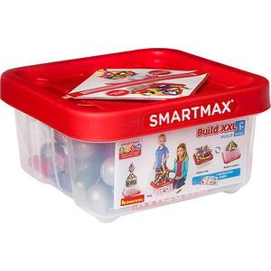 все цены на Магнитный конструктор Bondibon SmartMax, Основной (Basic) набор XXL, 70 деталей (ВВ2199 ) онлайн