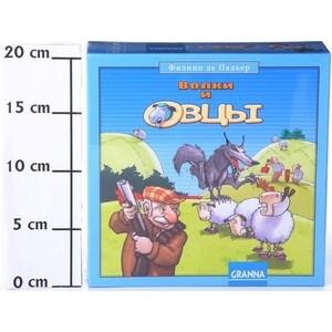 все цены на Настольная игра Granna Волки и овцы ( новое издание) (Ф60991 ) онлайн