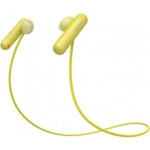 Наушники Sony WI-SP500 yellow