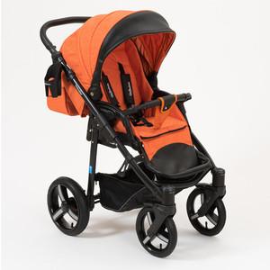 Коляска прогулочная Mr Sandman Traveler Premium оранжевый - черный